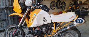 Sattlerei auf-mass Motorradsattel Produktion